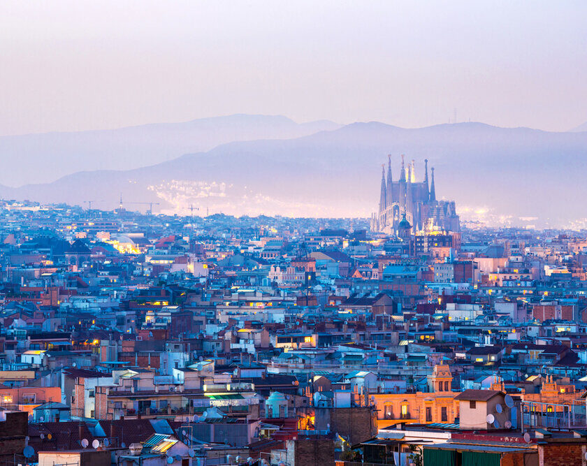 Barcelona. Instragram #Barcelona - 62,2 millones de hashtags