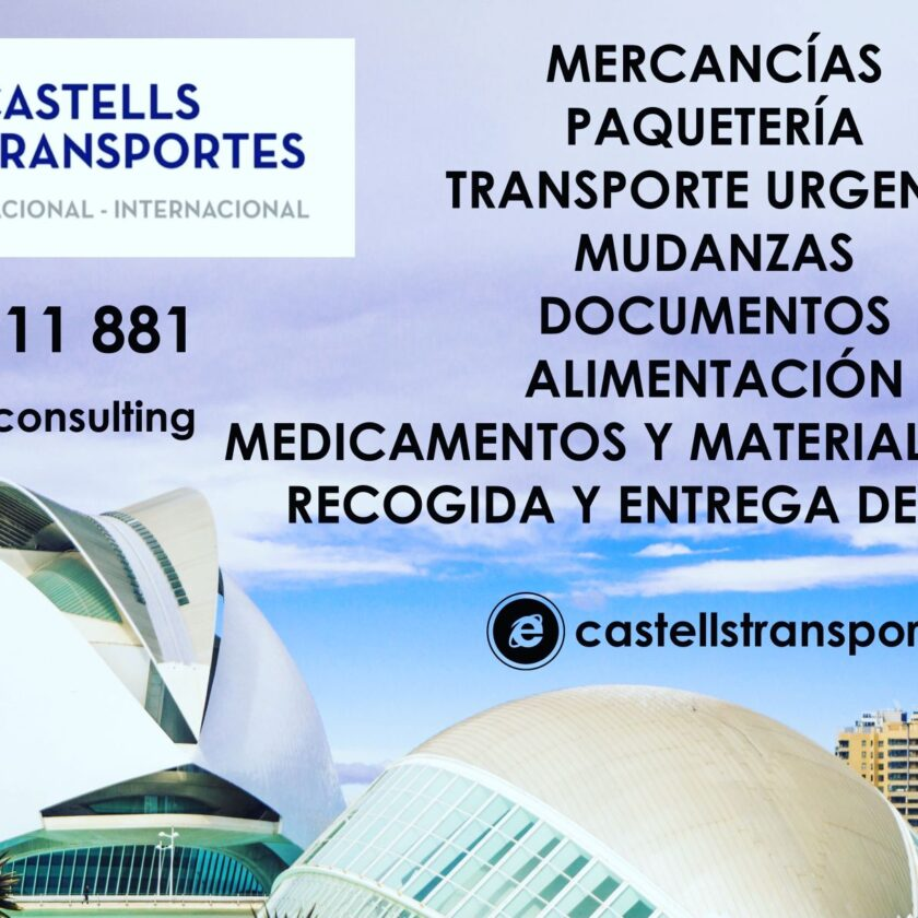Transportes Castells en Valencia Algemesi